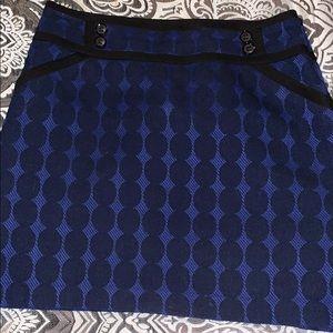 Beautiful blue and black skirt